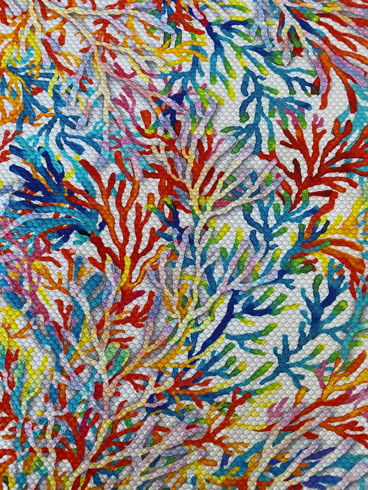 SOYUAR Stoffhighlight Coral